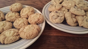 New York Cheesecake Cookies and Chocolate Chip Cookies